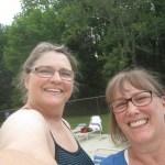 Ellen and Marcia