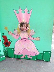 Meg is a princess!