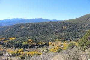 Mountains near Salida