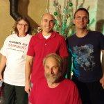 Dave, Ellen, David, and Bret