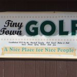 Miniature golf for nice people