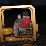 Rich gives Uriah a spin on the crawler