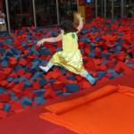 Meg jumping