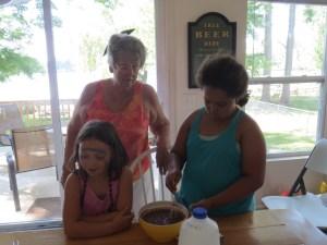 Stirring the pudding