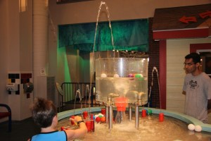Water area at the Hands-On museum