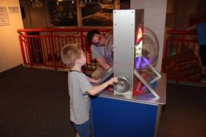 Elliot and Ian looking at nano-fluids