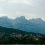 Mountains outside of Barcelona