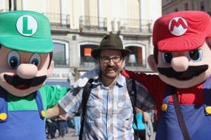 Mario and Luigi really liked my moustache