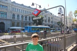Bank of Spain subway stop