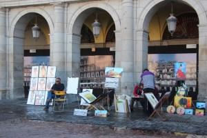 Artista at Plaza Mayor