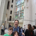Rob, Spencer, and Meg in Sagrada Familia