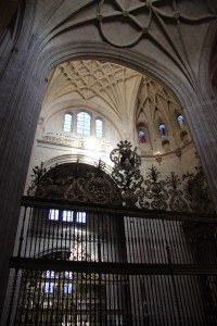 Altar in cathedral