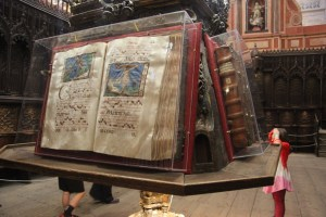 Gigantic prayer book