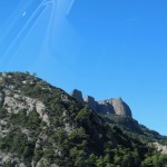 Rock outcropping in Andorra