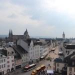 View of Trier from Porta Nigra