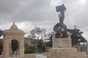 Malta independence monument