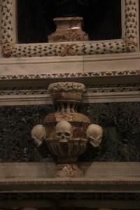 Skull sculptures