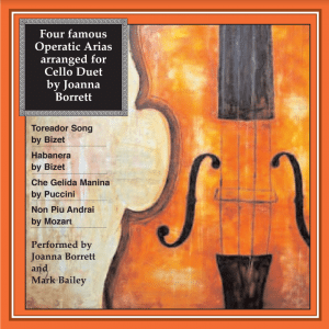 four famous operatic arias arranged for cello duet cd