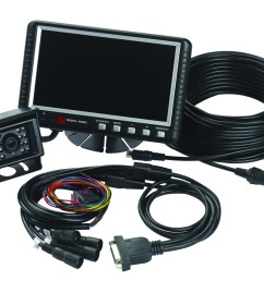 camset70 ntsc4b 7 0 monitor with four camera input 1 standard rear view camera 1 65 5 ft extension cable [ 1140 x 925 Pixel ]