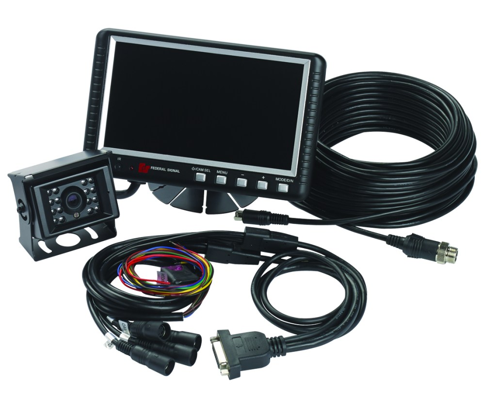 medium resolution of camset70 ntsc4b 7 0 monitor with four camera input 1 standard rear view camera 1 65 5 ft extension cable