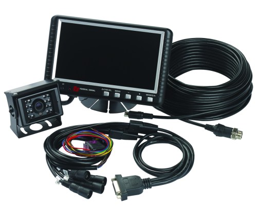 small resolution of camset70 ntsc4b 7 0 monitor with four camera input 1 standard rear view camera 1 65 5 ft extension cable