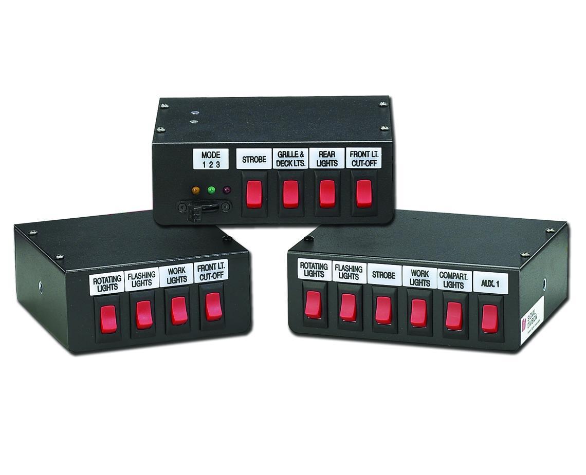 hight resolution of switch controls federal signal rh fedsig com whelen switch box wiring diagram whelen wiring schematics