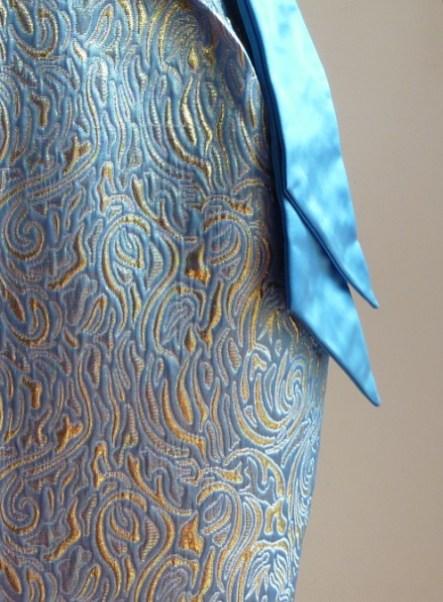 robe de cocktail sur mesure par Fée au Château couturière costumière à Versailles