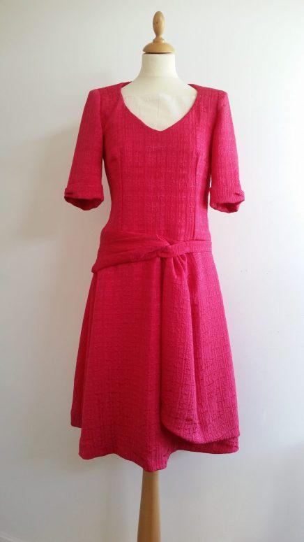 robe en soie sur mesure