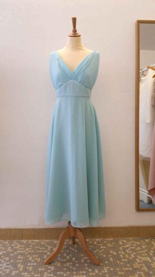 robe de demoiselle d'honneur par Fée au Château couturière costumière à Versailles