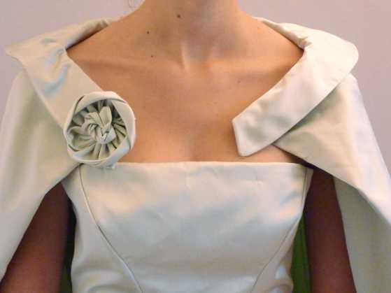 Robe de soirée sur mesure par Fée au Château couture