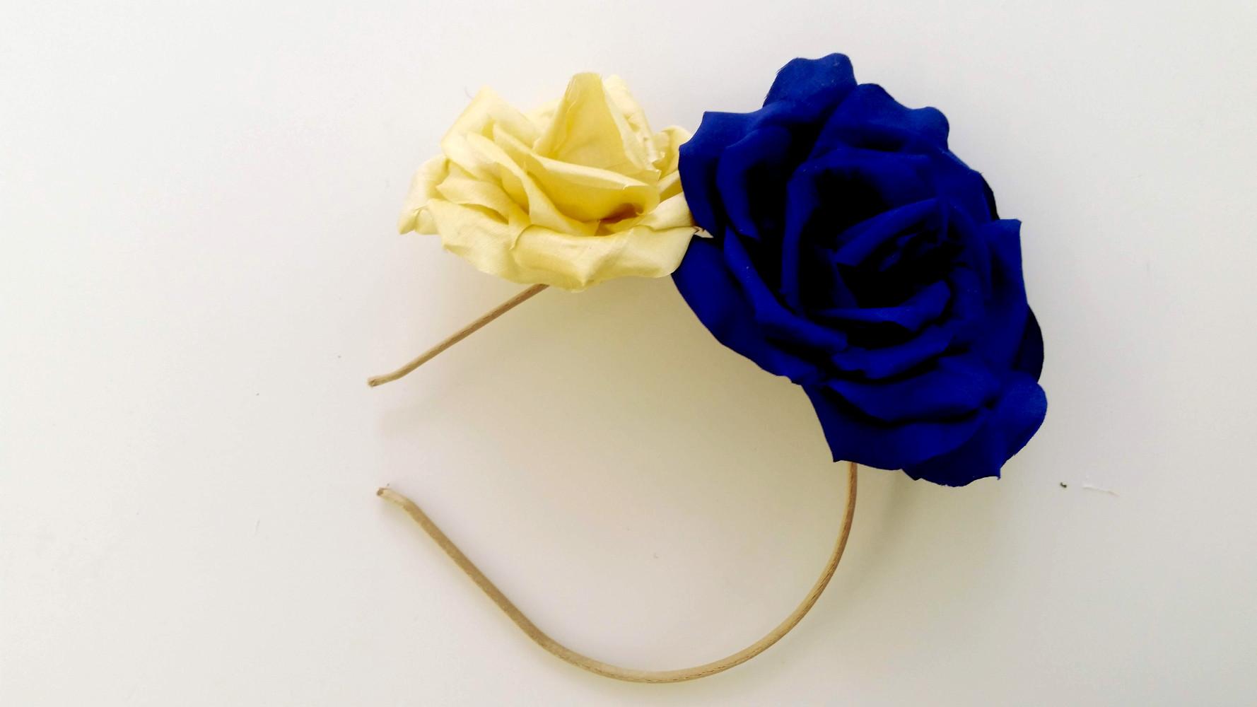 roses en soie par artisan 78 92