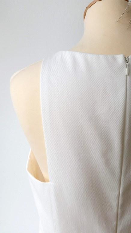 détail robe de mariée Versailles