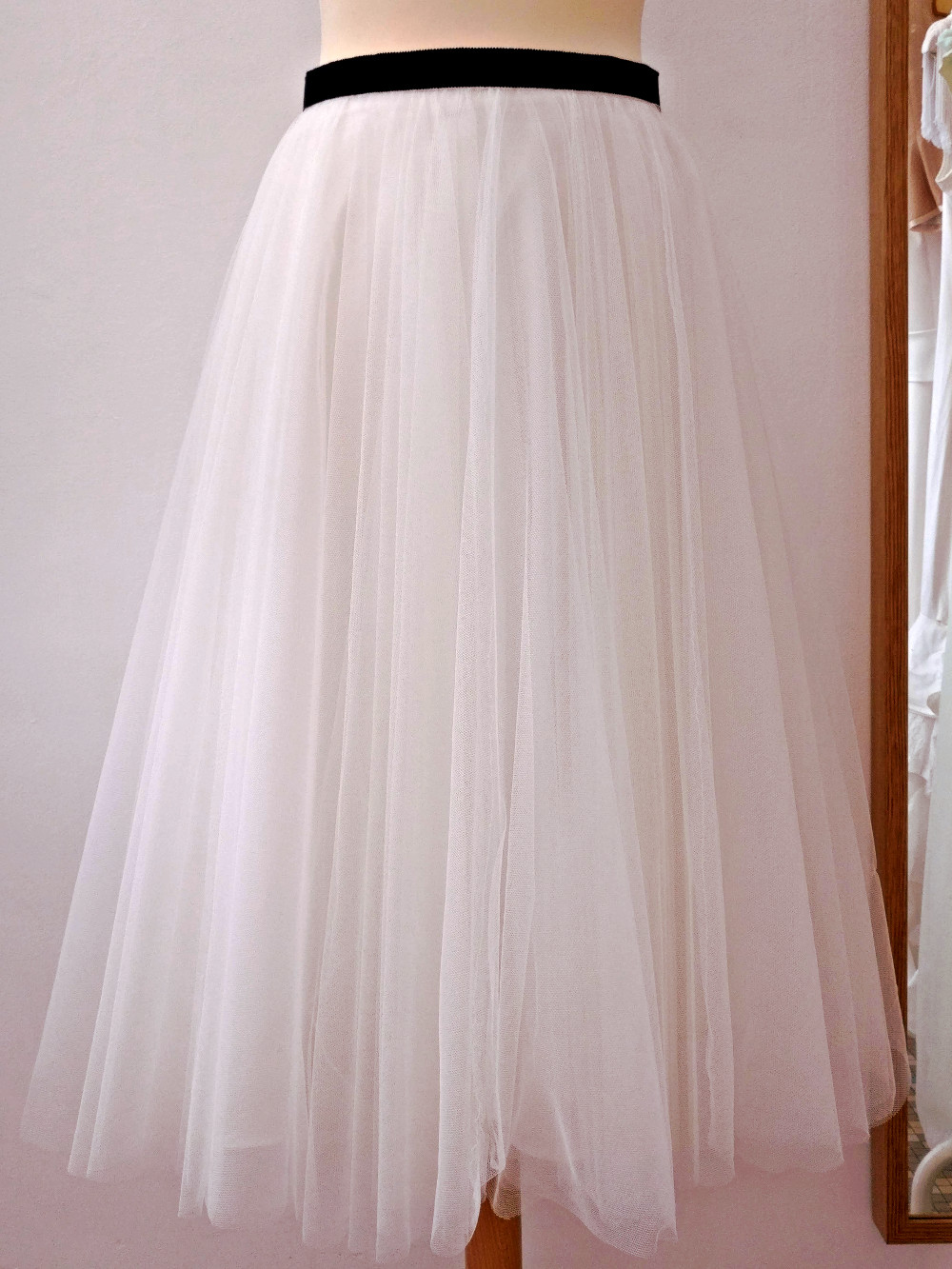 jupe en tulle couture