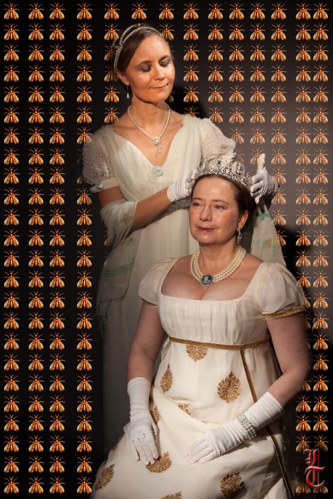 Costumes historique 1er empire par Fée au Château couture à Versailles