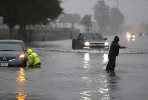California, US administration, Flooding, Los Angeles