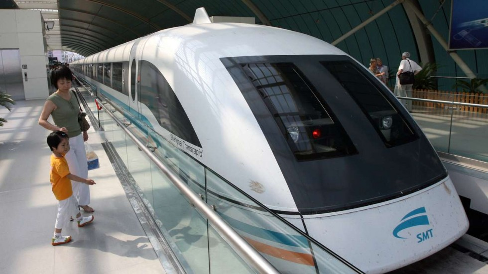 Maglev,high speed train,China, train speed 600 kmph
