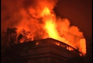 Plastic factory,Massive fire,Delhi Fire Accident,Bawana industrial area