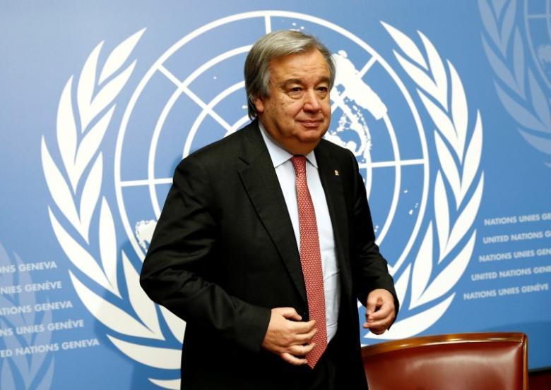 UN chief,India-Pakistan border,Antonio Guterres