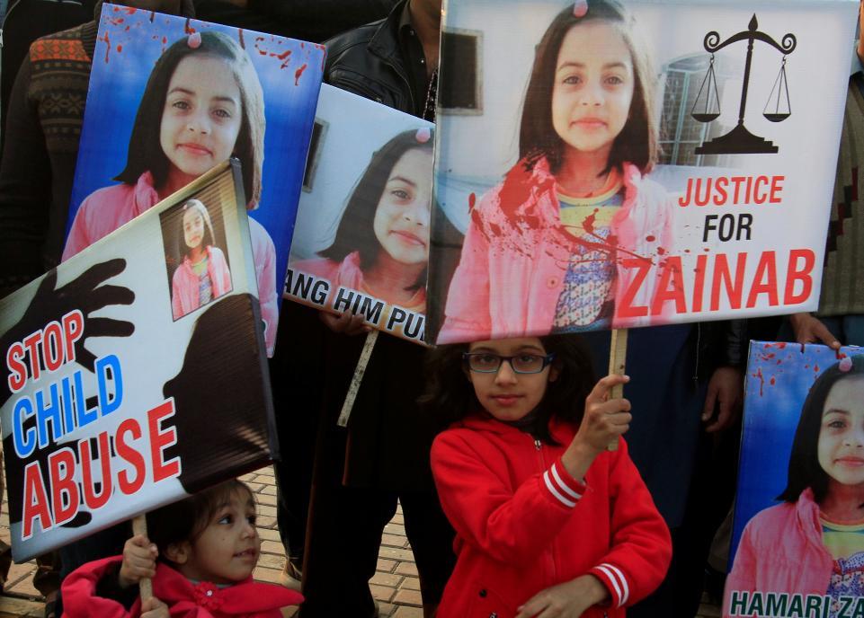 Zainab,Rape,Pak court, pakistan