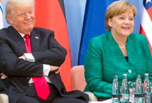 Donald Trump,Bashar Assad,Angela Merkel