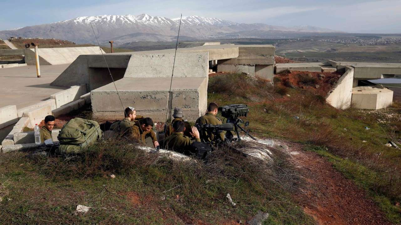 syria,military targets,israel,Iran
