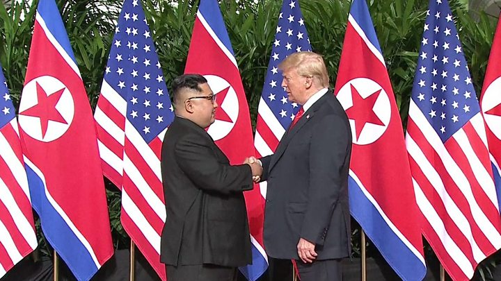Donald Trump, Kim Jong Un, Trump Kim Summit, North Korea, US North Korea, Trump Kim Meeting, nuclear disarmament,Trump in Singapore, Kim Jong Un in Singapore, Trump Kim Summit Live