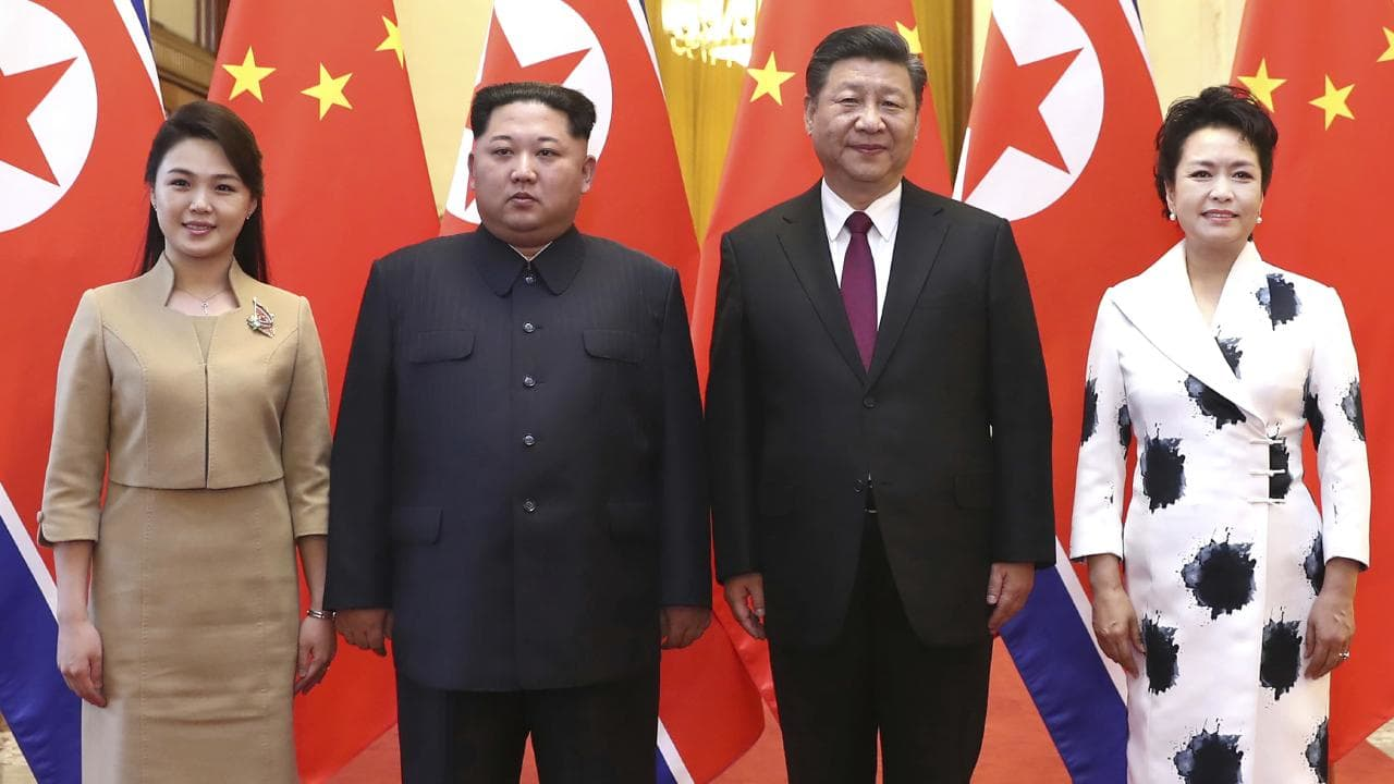 Xi Jinping,Kim Jong-un,China, trump kim summit , trump, singapore