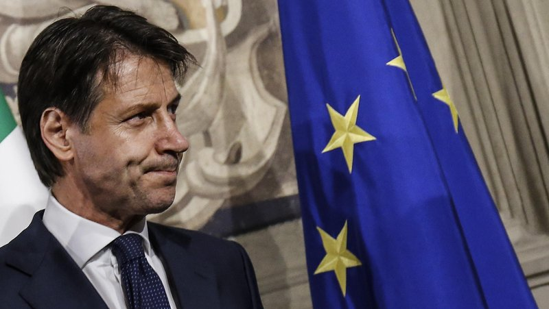 italian PM,giuseppe conte,Coalition govt