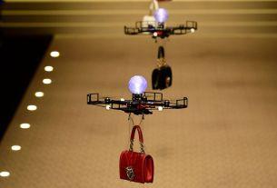 saudi drone fashion show,Saudi arabia women,drones used instead models,saudi arabia