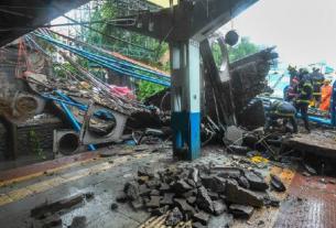 Mumbai rains,mumbai fire brigade,Mumbai bridge collapse,motorman,Gokhale Bridge,andhari west