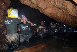 thailand news,thai football team,thai cave rescue,football team in cave