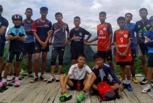 tham luang nang non cave,thailand youth football,Football, missing football team in thailand