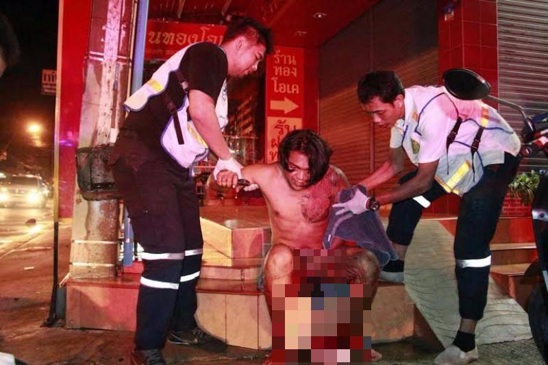 woman cuts husbands penis,Thailand,penis chopped off,husband affair