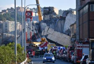 Italy PM ,Italy bridge collapse ,39 killed in bridge collapse ,World News
